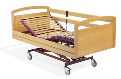 Eco de somier articulado electrico de madera eco de 105 x for Precio somier 105 x 190